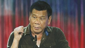 Rodrigo Duterte: staying positive
