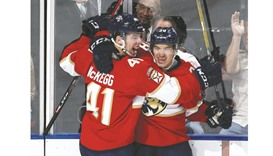 Rookie Harper scores twice in Panthers win