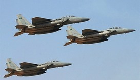 Saudi-lead air strikes, Yemen