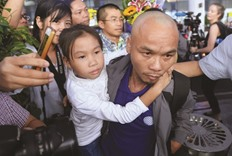 Joy as Vietnam hostages return from pirate ordeal