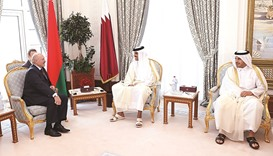 Qatar, Belarus sign pacts to boost bilateral ties