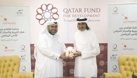 Qatar Charity, ICSS sign partnership to strengthen sport values