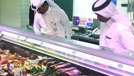 Inspection campaign at food outlets