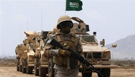 Saudi holds live-fire drills during Gulf war games