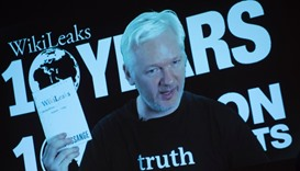 Assange signals documents' release before US election