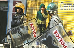 Kashmir unrest