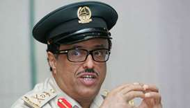 Lt. Gen. Dhahi Khalfan, head of Dubai Security