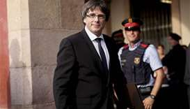 Spain warns Catalan leader ahead of independence showdown