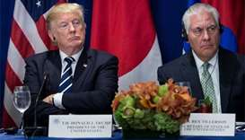 Trump challenges Tillerson to IQ test as feud intensifies