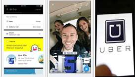 Looking for an Uber? Book it through Snapchat's 'context cards'