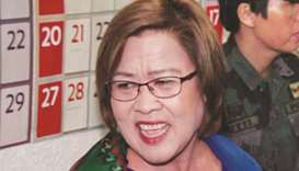 Court upholds drug charges against De Lima