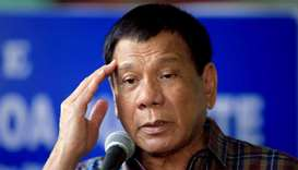 Philippines' Duterte says will snub graft probe