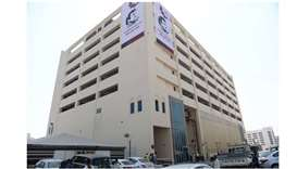 Kahramaa's New Grand Hamad sub-station and parking facility in Doha's Al Ghanim area.