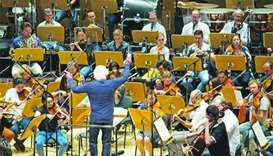 Citizens from 31 countries make music together in QPO