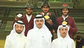 Al-Amri triumphs on opening day of Hathab series