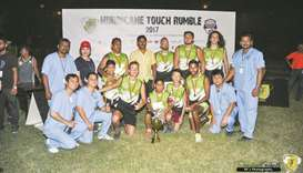 Chiefs win touch rugby tournament