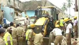 Bengaluru building collapse kills at least five people