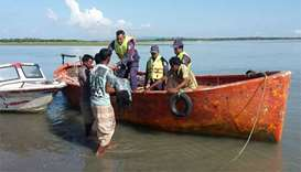 Ten drown as Rohingya boat sinks off Bangladesh