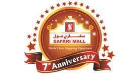 Safari Mall's anniversary promotion launch today
