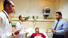 QRCS backing for Nasser Hospital in Gaza