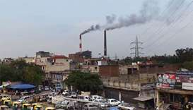 New Delhi shuts power plant in fight against Diwali smog