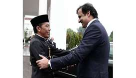 Widodo hails Emir's state visit to Indonesia