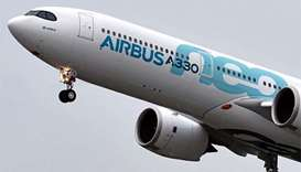 Airbus A330neo takes off on maiden flight