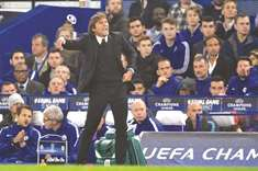 Manager Conte takes blame for Chelsea's sloppy show