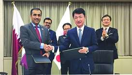 Kahramaa, Japan firm sign MoU on energy efficient desalination project