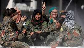 US-backed Syria force hails 'historic victory' in Raqqa