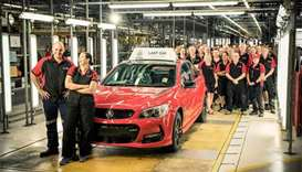 Australian car manufacturing ends as GM Holden closes plant