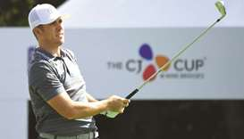 List in lead as wind blows Thomas off course in Jeju