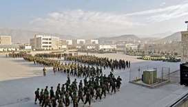 15 Afghan army cadets killed in attack on security forces