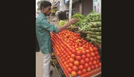Vegetable prices shoot up