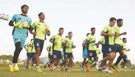 Delhi Dynamos conclude pre-season training at Aspire