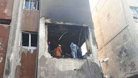 Deadly suicide bombings hit Damascus police station