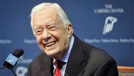 Former US president Carter offers to travel to Pyongyang