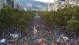 Catalan separatists weigh options after Spain 'coup'