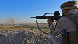 Peshmerga fighter