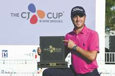 Thomas puzzled by 'bizarre' CJ Cup win