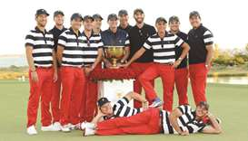 United States polish off lopsided Presidents Cup win
