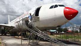 Nepali pilot revives crashed plane as aviation museum