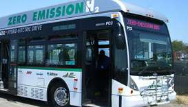 Zero emissions bus (Photo for illustrative purposes only)
