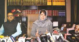 Government to launch talks on Kashmir issue