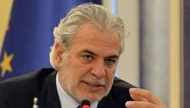European Commissioner for Humanitarian Aid and Crisis Management Christos Stylianides