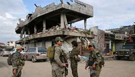 Life begins returning to war-torn Philippine city