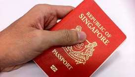 Singapore passport ranked 'world's most powerful'