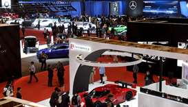 A general view shows the Tokyo Motor Show in Tokyo
