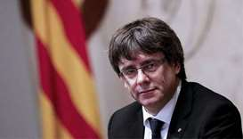 Party of deposed Catalan leader wants him as election candidate
