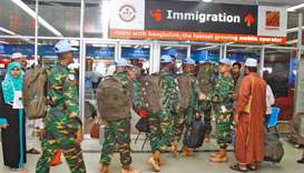 Immigration at Dhaka international airport
